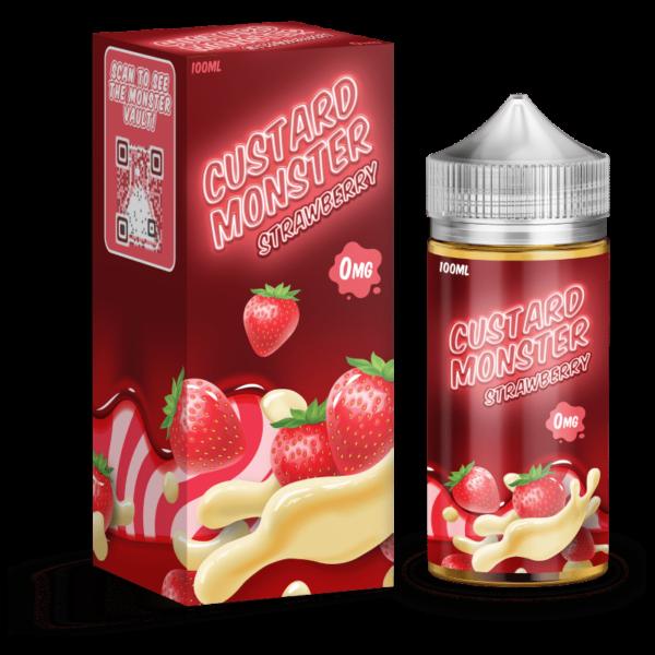 Strawberry Custard Monster