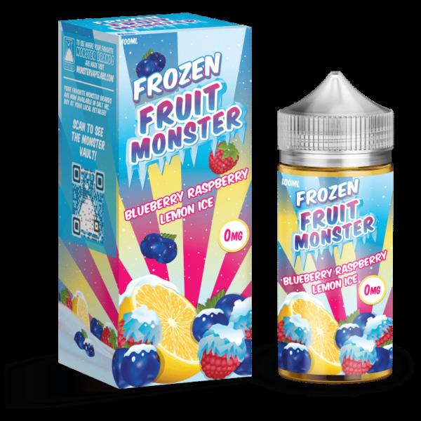 Blueberry Raspberry Lemon Ice Frozen Fruit Monster