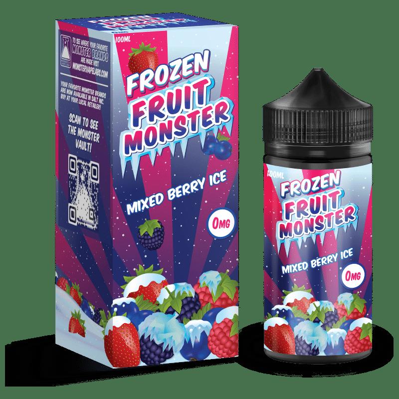Mixed Berry Ice Frozen Fruit Monster