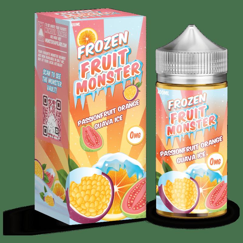 Passionfruit Orange Guava Ice Frozen Fruit Monster