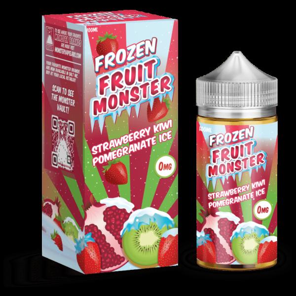 Strawberry Kiwi Pomegranate Ice Frozen Fruit Monster