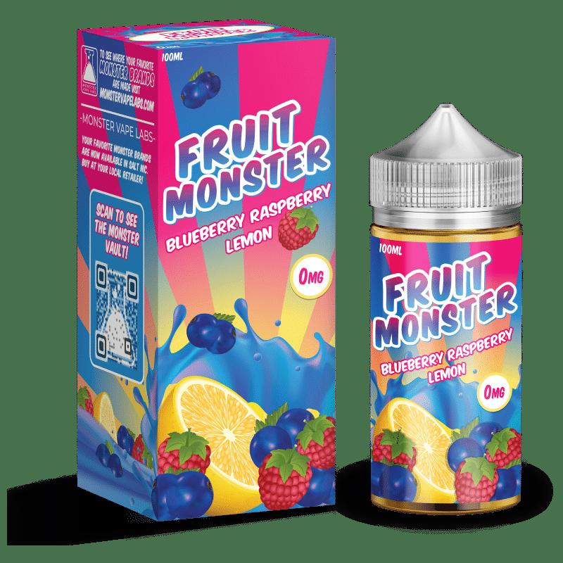 Blueberry Raspberry Lemon Fruit Monster