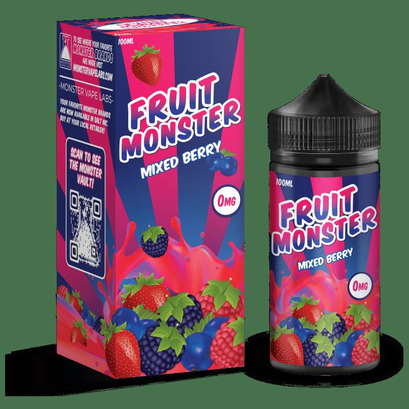 Mixed Berry Fruit Monster