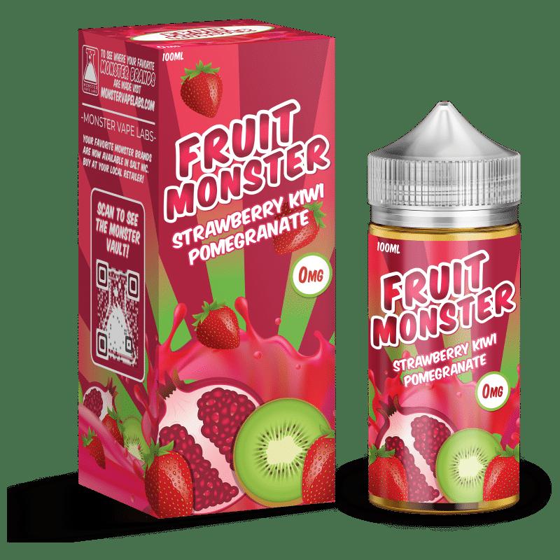 Strawberry Kiwi Pomegranate Fruit Monster