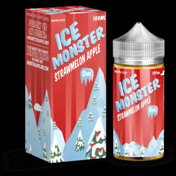 Strawmelon Apple Ice Monster