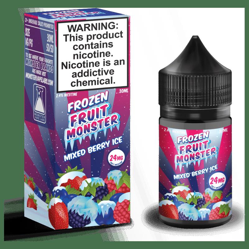 Mixed Berry Ice Frozen Fruit Monster Salt Nic
