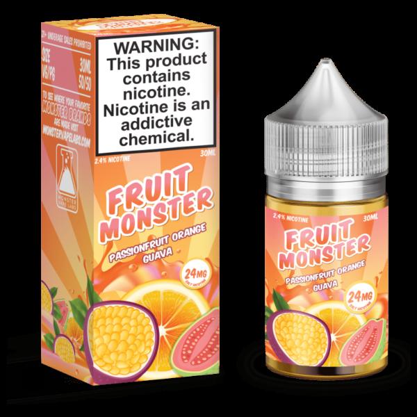 Passionfruit Orange Guava Fruit Monster Salt Nic