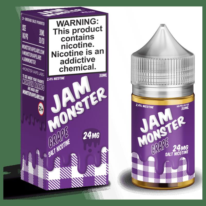 Grape Jam Monster Nic Salt