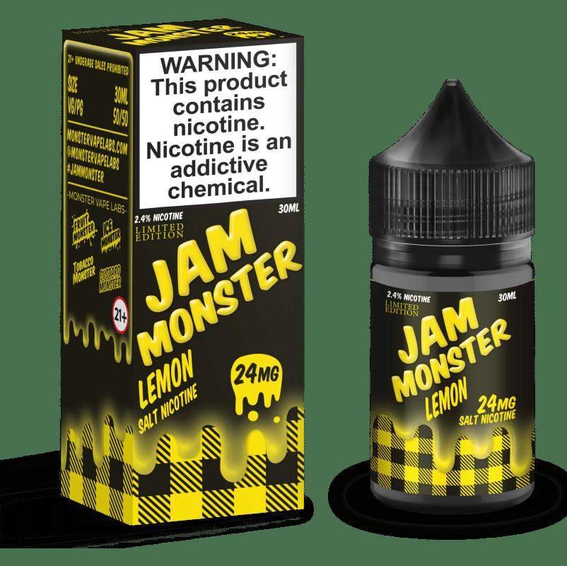 LE Lemon Jam Monster Nic Salt