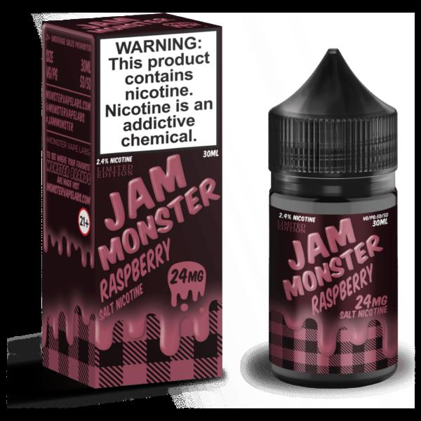 LE Raspberry Jam Monster Nic Salt