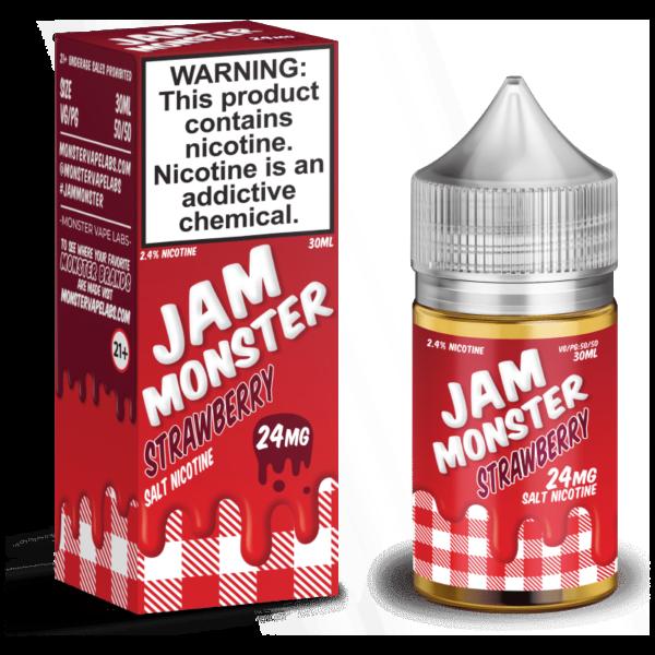 Strawberry Jam Monster Nic Salt