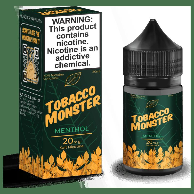 Menthol Tobacco Monster Salt Nic