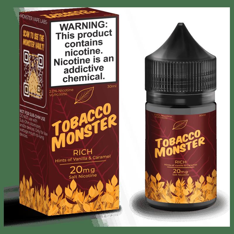 Rich Tobacco Monster Salt Nic